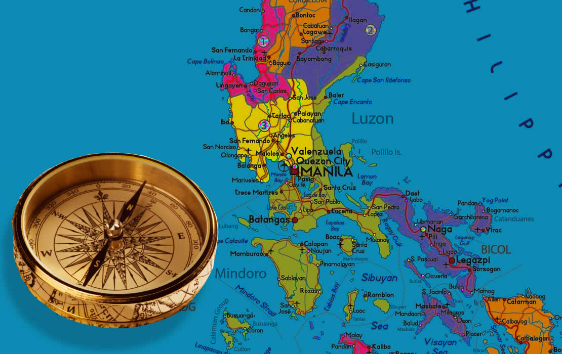 Philippines' moral compass. Graphic: dollaradventureclub.com & civinate.com