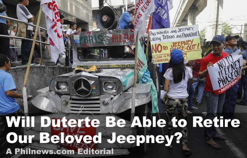 Will Duterte Be Able to Retire Our Beloved Jeepney?