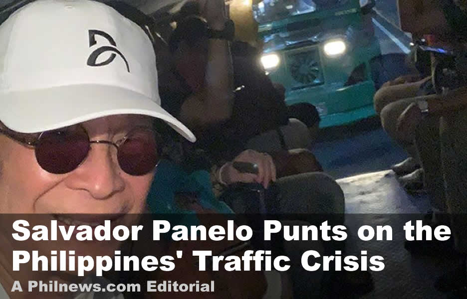 Salvador Panelo Punts on the Philippines' Traffic Crisis