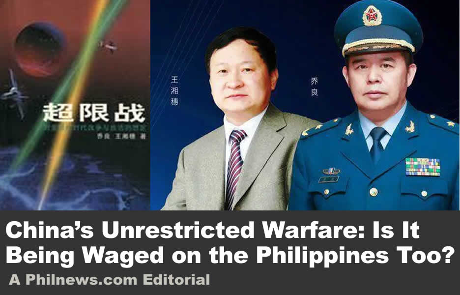 China's Unrestricted Warfare: Is It Being Waged on the Philippines Too?