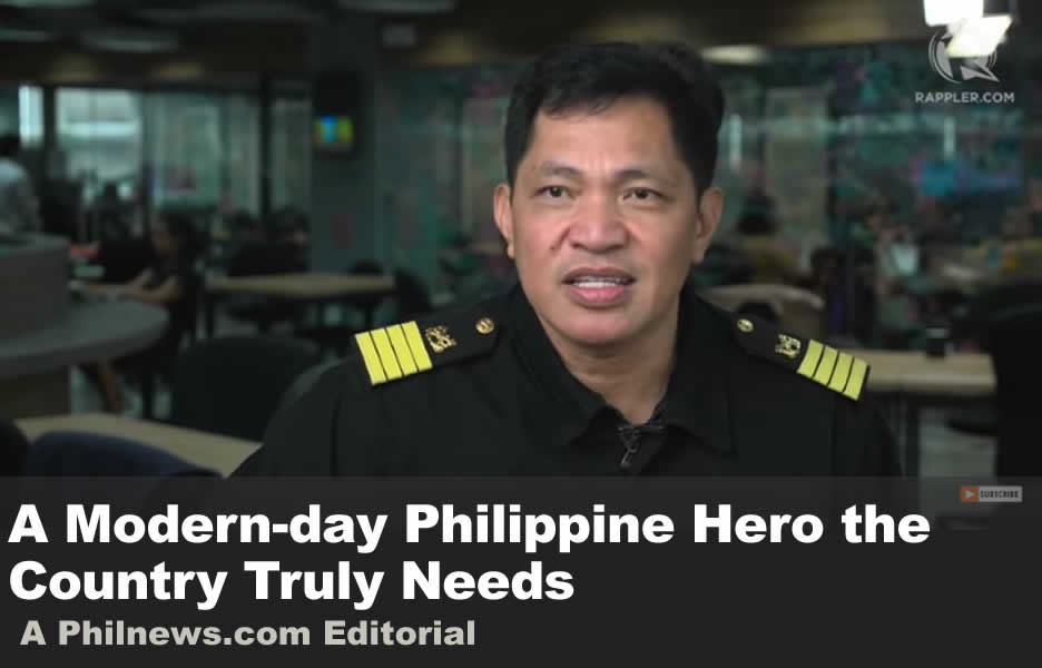 A Modern-day Philippine Hero the Country Truly Needs